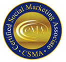 Certified Social Marketing Associate seal