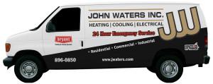 John Waters van