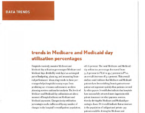 HFM Magazine Data Trend