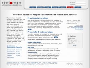 American Hospital Directory